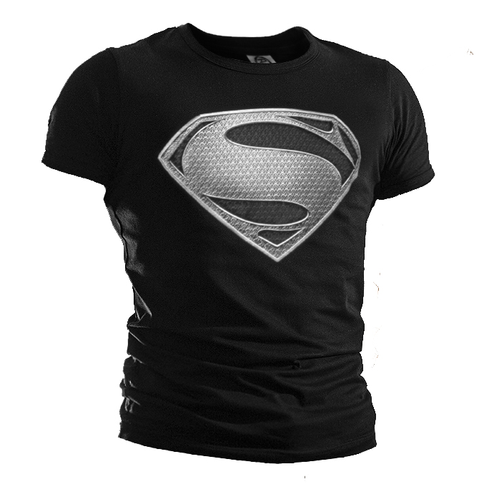 Fashion summer superman t shirt men cool casual style for Cool mens casual shirts