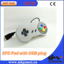 SFC Pad Controller with USB plug for PC,Raspberry PI