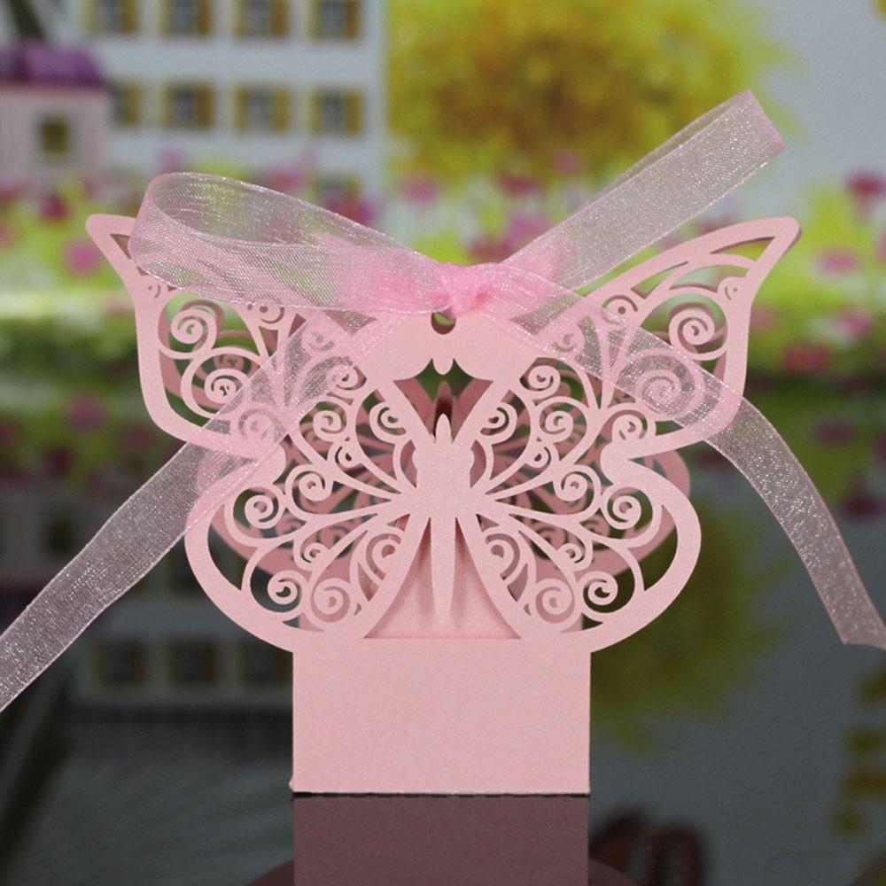 шаблон бабочка из бумаги для украшения бокала