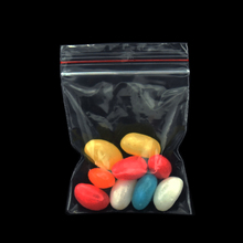 100pcs 7*10cm(2.75x3.94) Resealable Clear Zip Lock Plastic Bag PE Food Grade Packing Bags for Candy Jewelry Storage