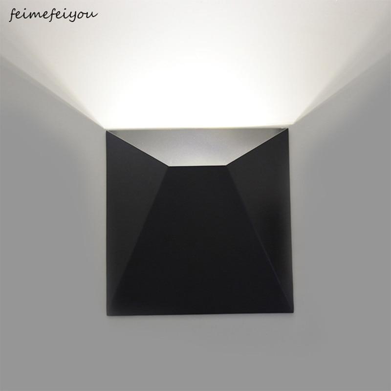 5 CONDUZIU a Lâmpada de Parede Luz Da Parede Interior Do Corredor Sala de estar Moderna Do Quarto Ao Lado de Leitura Iluminação Quarto de Hotel Decoração