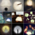 Coversage Novela Noche Lámpara de Mesa de Luz del Libro del Led de Cuatro Colores lámpara del Dormitorio de Los Niños Niños Bebé Durmiendo USB Lámparas Led Noche luz