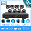 Home 8 CH CCTV Security Cameras DVR System 700TVL Indoor Dome Ir Cut Cameras 8ch Surveillance
