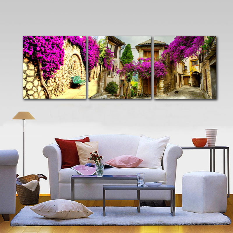 Aliexpress.com : Buy Home Decor Canvas Painting Wall Art ...