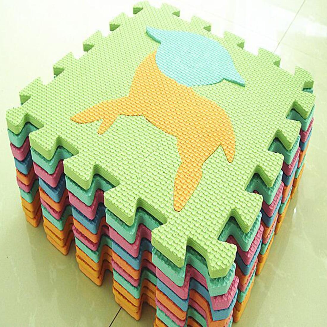 10pcs Set 30 30cm Eva Mat Puzzle Carpet Baby Play Mat