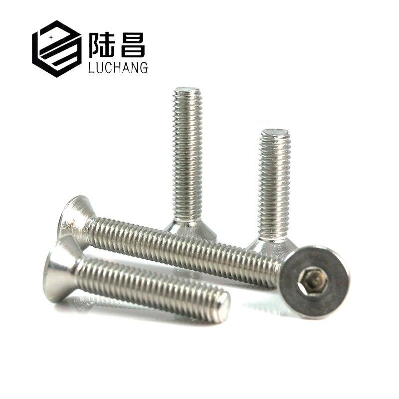 Bulk Hardware BH07297 Electrical Plug Socket Switch Machine Screws BZP Steel M3.5 x 40mm Pack of 100