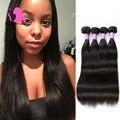 8A Brazilian Virgin Hair Straight 4 Bundles 100% Real Human Hair Weave Bundles Queen Hair Products Mink Brazilian Straight Hair