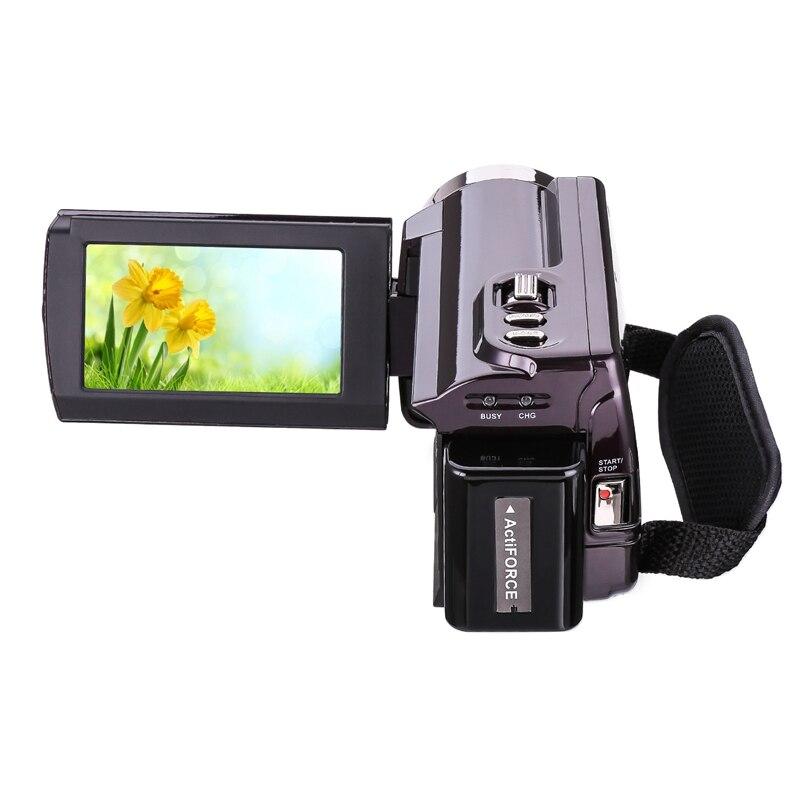 1080P 16X Hdv-5053Str портативная видеокамера Full Hd цифровой зум Цифровая видеокамера рекордер Dvr с Wifi 8Mp пресс-экран (ЕС