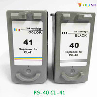 vilaxh PG 40 CL 41 pg 40 Ink Cartridge For Canon PG40 CL41 Pixma IP2200 IP1800 MP160 MP180 MP210 MP140 MP150 MP190 MP220 MP450