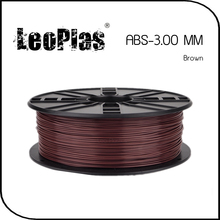 Worldwide Fast Delivery Direct Manufacturer 3D Printer Material 1 kg 2.2 lb 3mm Brown ABS Filament