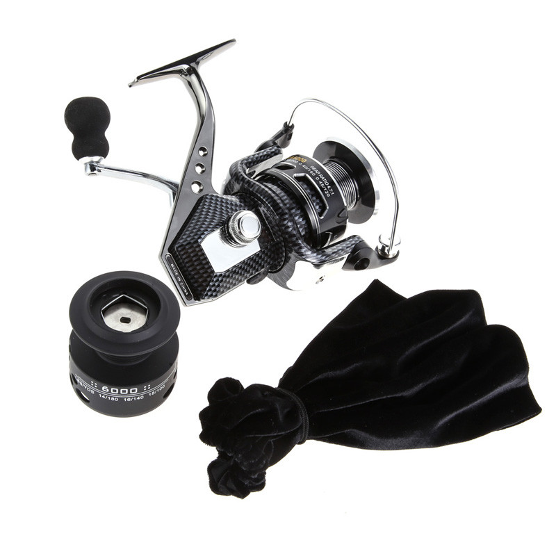Right/Left Handle 11 BB Gear Ratio 5.5:1 Spinning Reels Metal Fishing Reel Speed Gear Spool Large Casting Angle 2000-7000# Reels