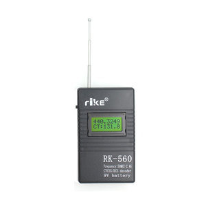 Image 4 - 50MHz 2.4GHz Portable Handheld Frequency Counter RK560 DCS CTCSS Radio Tester RK 560 Frequency Meter