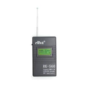 Image 4 - 50MHz 2.4GHz taşınabilir el frekans sayıcı RK560 DCS CTCSS radyo test cihazı RK 560 frekans ölçer