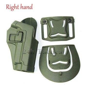 Tactical CQC arma de combate funda de mano derecha pistolera para el cinturón de caza pistola cintura funda para Sig P226/220/228/229