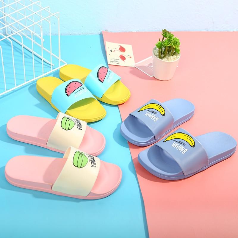 Mujeres zapatillas verano playa Flip Flops Zapatillas de casa femeninos  moda bellas damas Casual Slip On 7e918b184f0b