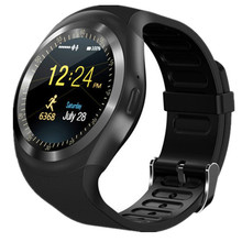 Skysmile Bluetooth Smart Watch GW01 Round Screen Smartwatch Clock For Apple Huawei IOS Android Sport Wristband Support SIM TF