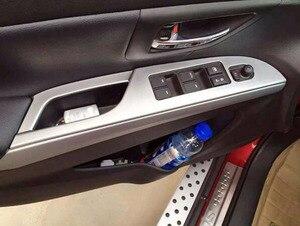 Image 3 - Per Suzuki SX4 S Cross 2014 2015 2016 2017 2018 2019 Chrome interni maniglia bracciolo copertura Car Styling accessori adesivi