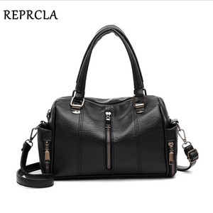 Image 3 - REPRCLA Luxury Women Bag Designer Leather Handbag Fashion Pillow Shoulder Bags Crossbody Female Tote Hand Bags Brand Bolsos