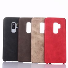 купить Original Case For Samsung Galaxy S9 S9 Plus Silicone soft cases PU Leather Back Phone back Cover For Galaxy S8 S8 PLUS Note 8 недорого