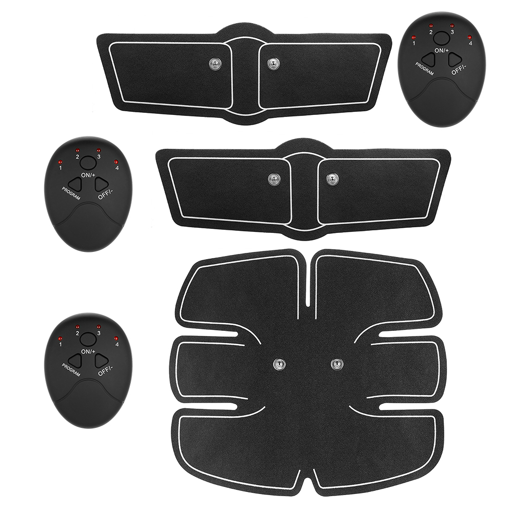 New Abdomen Trainer Fitness Toner Belly Leg Arm Exercise Equipment Abdominal Fitness Smart Stimulator Exerciser Toning Belt