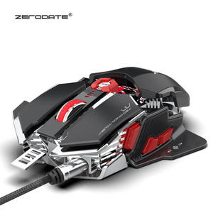 Image 3 - ZERODATE LD MS500 Adjustable 4000DPI RGB Breathing Light Gaming Mouse Professional Mechanical Gaming Mouse Ergonomic Game Mice