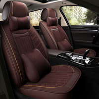 XWSN Auto Leather car seat cover For subaru forester impreza xv 2017 outback accessories covers for vehicle seats