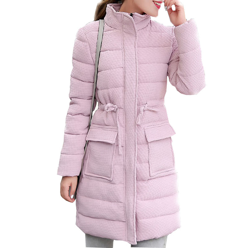 Women Winter Jacket and Coat 2016 New Fashion Down Cotton Coat Women Thick Warm Long Slim Parka Female Outerwear Plus Size W120 high quality thick warm wind down jacket female fashion casual cotton coat women winter coat jacket warm long outerwear overwear