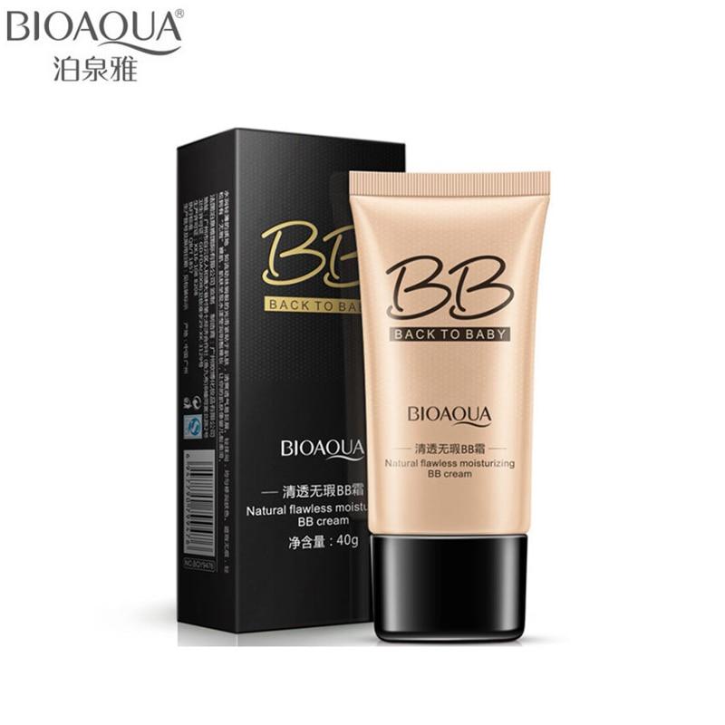 Bioaqua бренд 3 цвета натуральный безупречный BB крем Макияж Корректоры для лица масла-контроль жидкая Основа для макияжа Лица Увлажняющий косметика 40 мл