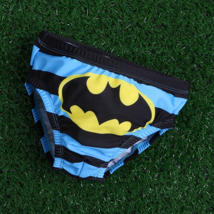 3-6T Chłopięcy Batman Deska Krótkie Stroje Kąpielowe Dzieci - Ubrania dziecięce - Zdjęcie 2