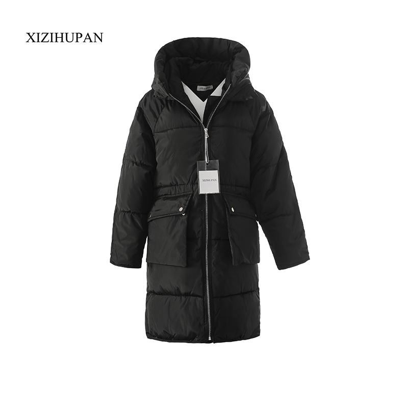 Wholesale 2017 New Fashion Long Section Of The Package Of Cotton Coat Winter Thick Warm Down Female Large Yards Women Coat A194 2014 winter new top 90 european stations velvet waist slim flouncing long section of a large swing down