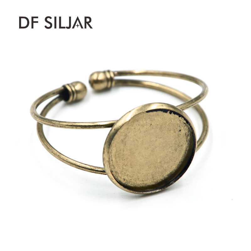Worldwide delivery 25mm cabochon bangle in Adapter Of NaBaRa