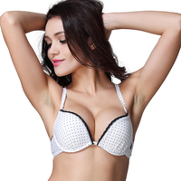 Girls Puberty Push Up Bra US Brand Lovely Polka Dot Padded BH Small Size A B