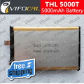 THL 5000T battery 5000mAh High Quality Replacement accessory Battery For Cell Phone + Track Number
