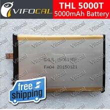 THL 5000 T batería 5000 mAh Reemplazo De Alta Calidad Batería de accesorios Para El Teléfono Celular + Número de Pista