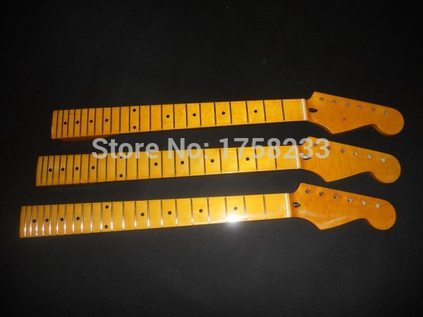 ФОТО 2016 Free shipping 2015 new vintage guitar neck maple guitar neck 22 fret neck in stock