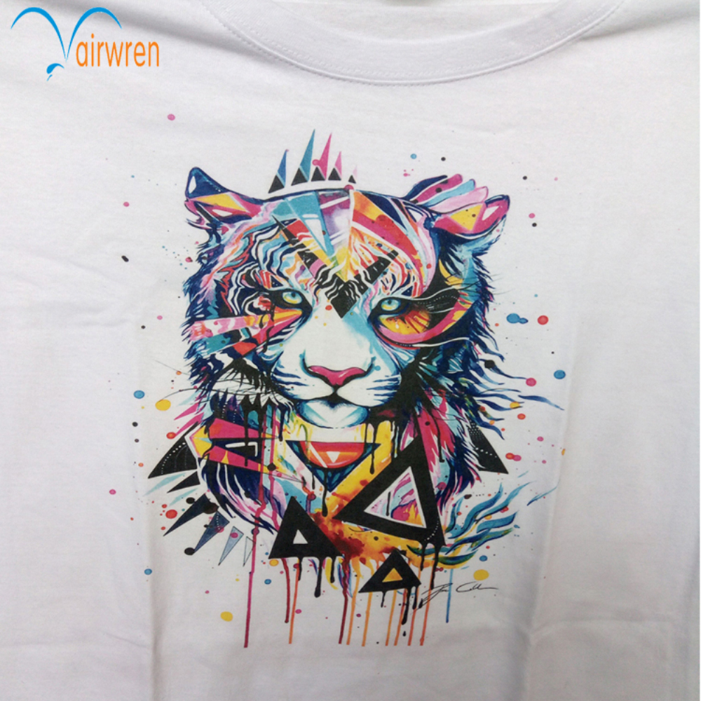 digital printing machine T shirt printer with high resolution 5760*1440dpi wales check tweed blazer