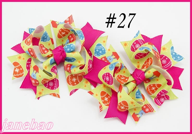 free shipping 50set3 5 pigtail bows character hair bows a set of two inspired hair bows