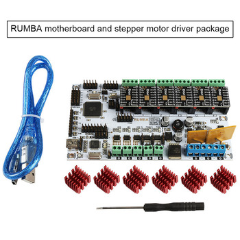 Integrated Rumba Motherboard Smart Controller 2560-R3 Processor Board for MKS TFT Display QJY99