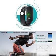 Для makibes JW018 BT4.0 Смарт Браслет и сердечного ритма Мониторы фитнес-трекер активности браслет для iOS и Android-смартфон