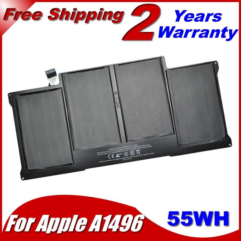 JIGU nouvelle batterie authentique A1496 pour Apple Macbook pro 13