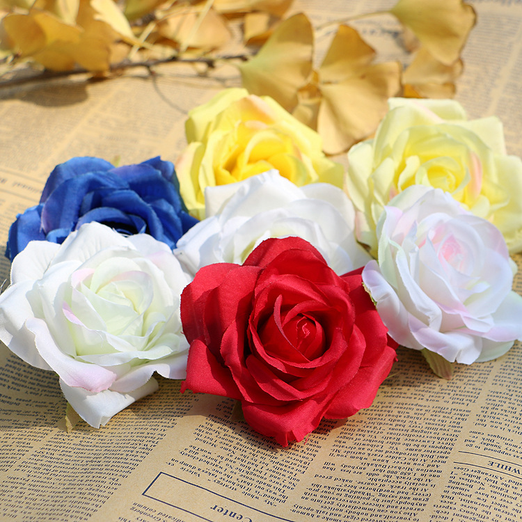 100pcs roses r flower wedding flower head simulation simulation silk 100pcs roses r flower wedding flower head simulation simulation silk flower wholesale fake flowers factory in artificial dried flowers from home garden mightylinksfo