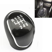 Dla Hyundai IX35 2012 2013 2014 2015 2016 wysokiej jakości ABS 6 prędkości Gałka zmiany biegów Shifter dźwignia kij piłka ręczna tanie tanio New bee K0142 ISO9000 0 1 kg masy ciała Wysokiej jakości tworzywo ABS Pokrętło zmiany biegów