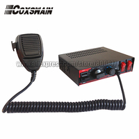 Free Shipping CJB 100A 100W Power Car Siren DC12V 7 Tones With Microphone With 2