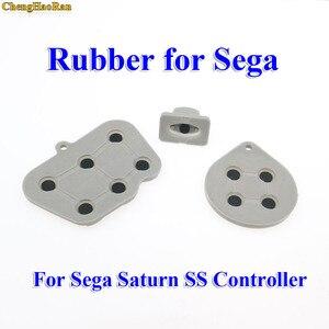 Image 2 - Chenghaoran 2 10 세가 토성 ss 컨트롤러에 대한 수리 부품 세트 전도성 고무 패드 버튼 시작 키 패드 버튼