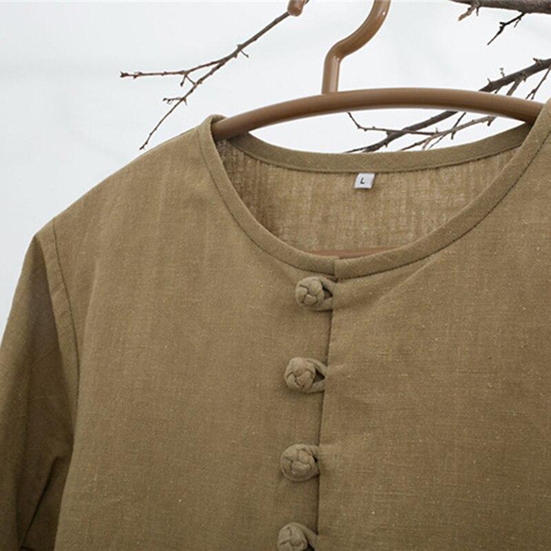 camisas básicas botão do pescoço da tripulação