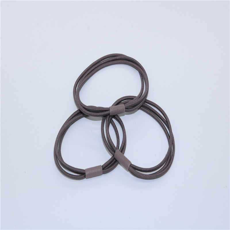 Three high elastic elastic bands for adults to tie the hair rope