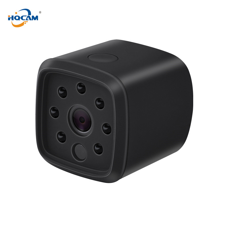 HQCAM 720P WIFI Wireless Mini IP Camera Night Vision Motion Detect Mini Camcorder Loop Video Recorder Built-in Battery Body CamHQCAM 720P WIFI Wireless Mini IP Camera Night Vision Motion Detect Mini Camcorder Loop Video Recorder Built-in Battery Body Cam