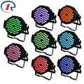 ZjRight 8pcs/lot 90W Red Green Blue LED Par light Large Performances Profession led par stage light for KTV Bar dj disco lights