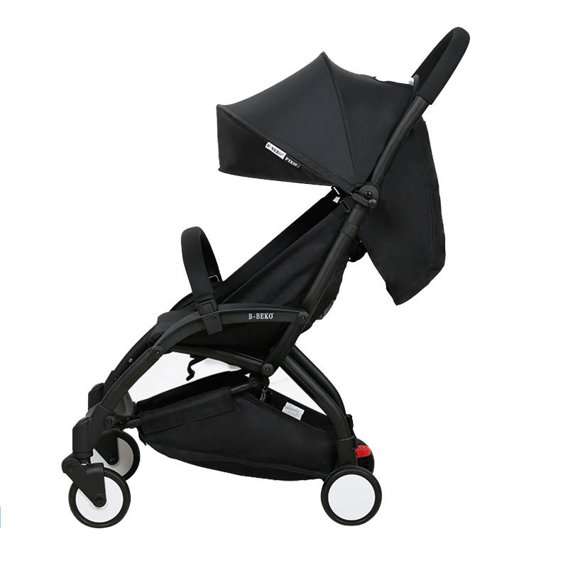 Baby Stroller  Lightweight Cart Portable Folding Baby Carriage 2 In 1 Mini Size Baby Trolley Baobaohao