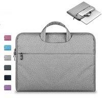 Soft Sleeve Laptop Bag Case For Macbook Air Pro Retina 11 13 15 Zipper Bags For